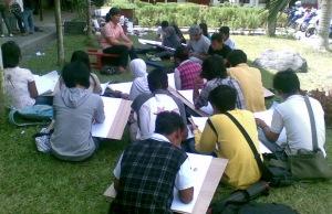 Kuliah Menggambar Model
